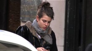 Charlotte Casiraghi in Paris
