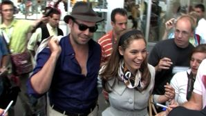 CANNES 2007 DAY 1, Celebrities arrivals at Cannes Airport