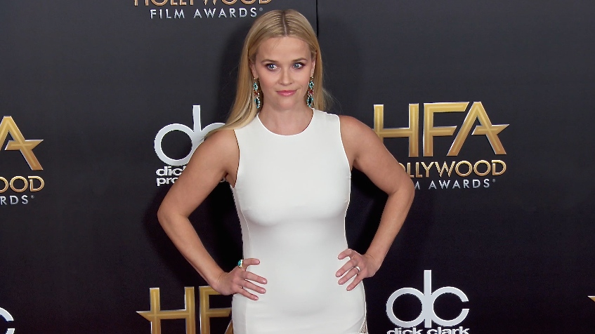 FRANCE ONLY - Reese Witherspoon, Will Smith, Channing Tatum at the Hollywood Film Awards 2015