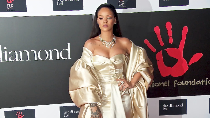 FRANCE ONLY - Rihanna, Kylie Jenner, Will Smith and more at Diamond Ball 2015
