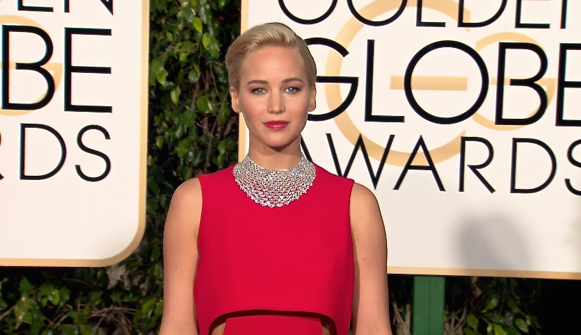 FRANCE ONLY - Jennifer Lawrence, Lady Gaga and more at the 2016 Golden Globe Awards