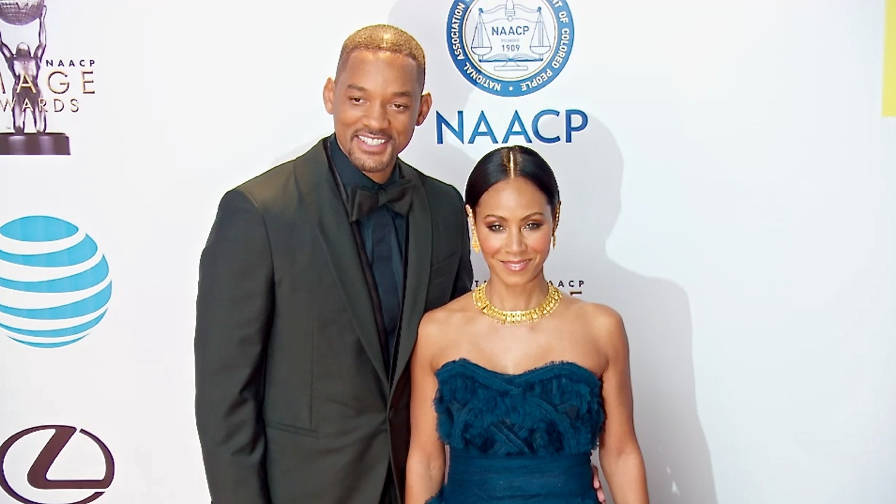 FRANCE ONLY - Will Smith, Jada Pinkett Smith, Kerry Washington and more at 2016 NAACP Image Awards