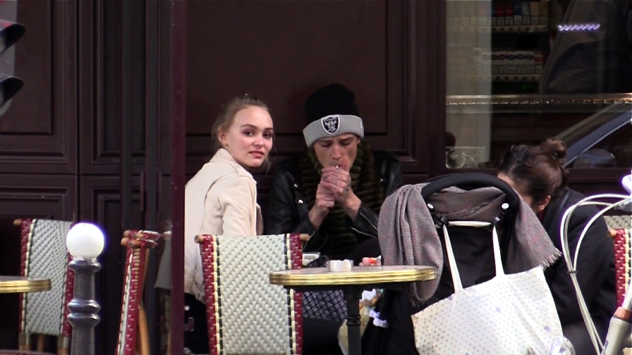 DO NOT CREDIT - EXCLUSIVE - Lily Rose Depp and rumored boyfriend Ash Stymest in Paris