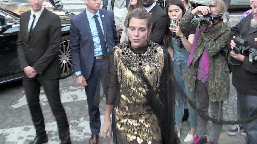 Charlotte Casiraghi, Soko and Gabriel Kane Day Lewis and more at the 2016 Vogue Galliera Museum part