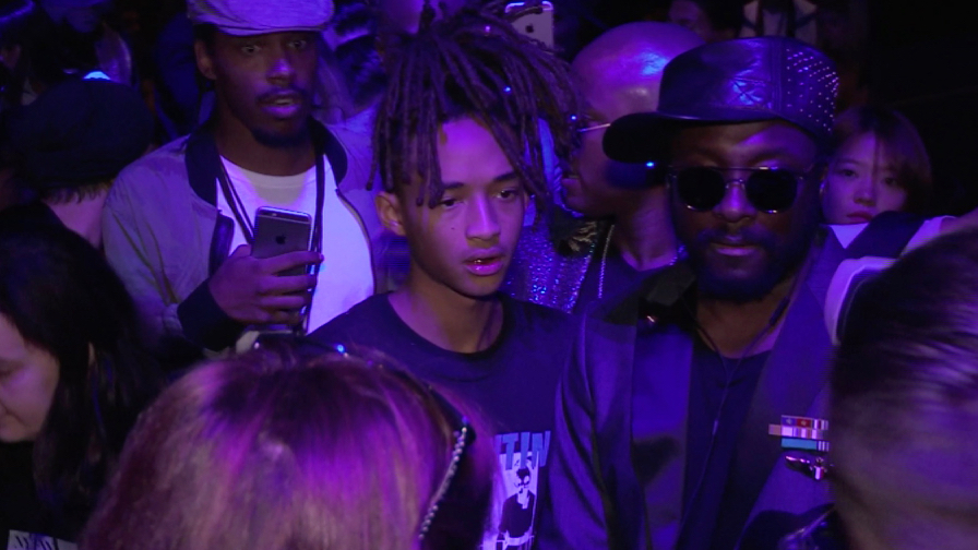 Jaden Smith, his girlfriend Sarah Snyder, Will IAM and more front row at the Hood By Air Ready to We