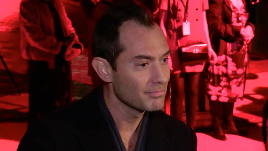 Jude Law and more at The Young Pope serie promotion premiere at Cinematheque Francaise in Paris