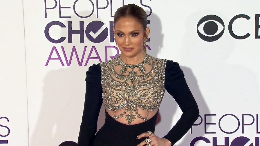 FRANCE ONLY - Jennifer Lopez, Blake Lively, Kristen Bell and more at People s Choice Awards 2017