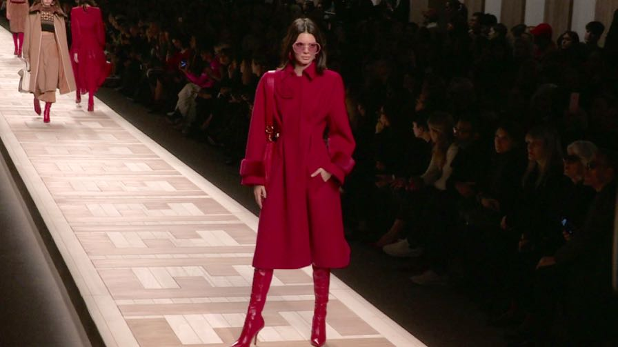Bella  Gigi Hadid, Stella Maxwell, Kendall Jenner and more on the runway for the Fendi fashion show