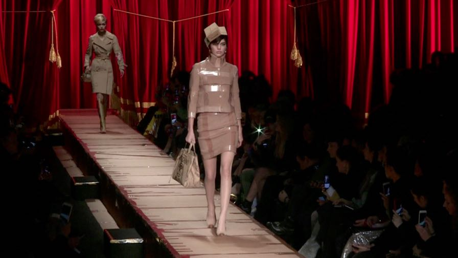 Kendall Jenner, Stella Maxwell, Lily Donaldson and more on the runway for the Moschino fashion show