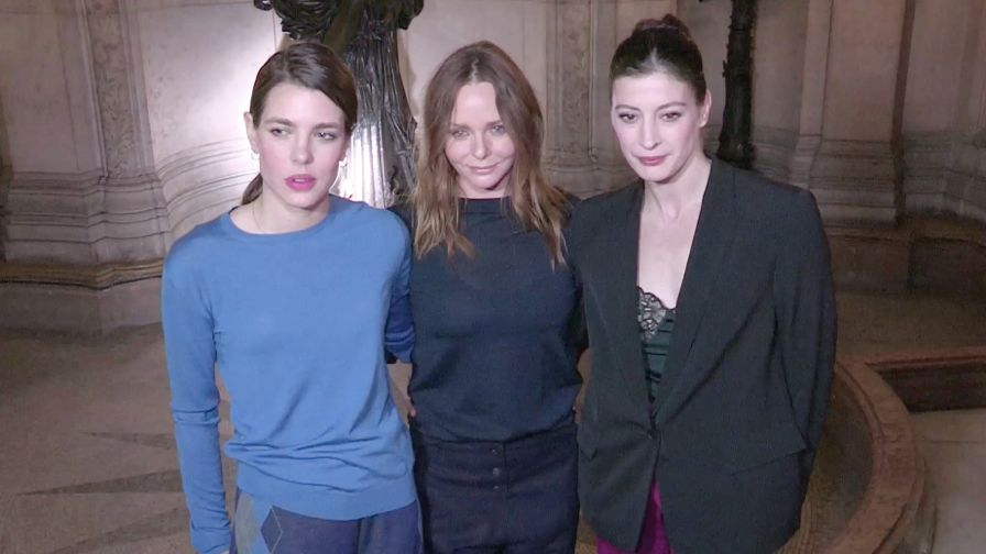 DO NOT CREDIT - Natalia Vodianova, Charlotte Casiraghi, Pamela Anderson and more backstage in Paris.