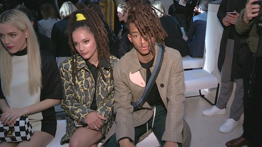 Lea Seydoux, Jennifer Connelly, Jaden Smith and more sits front row at the Louis Vuitton fashion sho