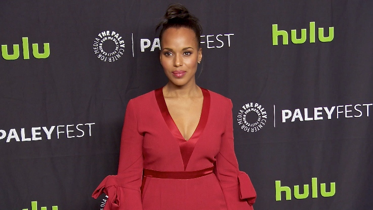 FRANCE ONLY - Kerry Washington, Bellamy Young and more at PaleyFest 2017 Scandal