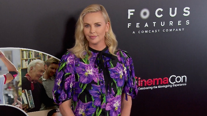 FRANCE ONLY - Charlize Theron, Naomi Watts, Kirsten Dunst and more at Focus Features CinemaCon Prese