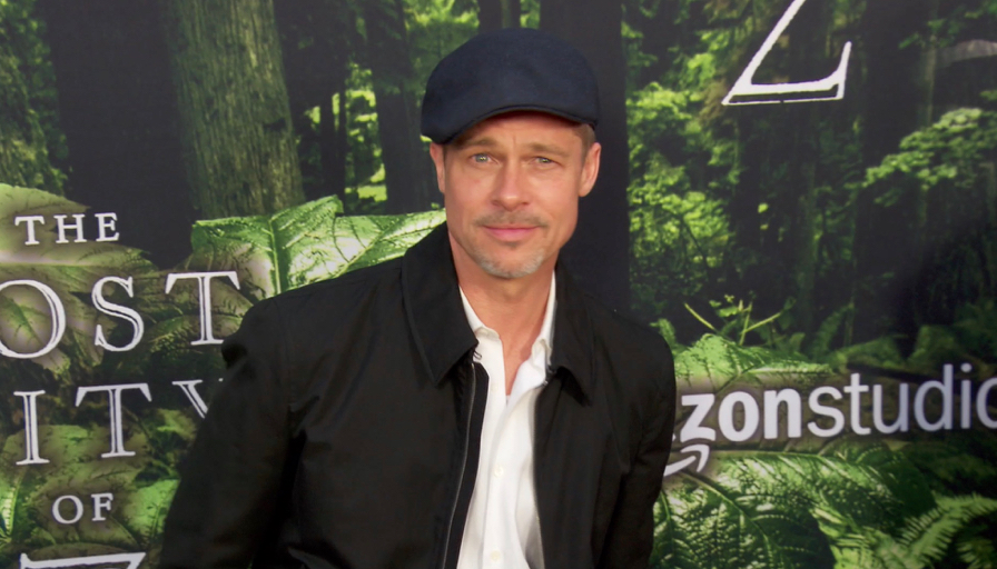 FRANCE ONLY - Brad Pitt at The Lost City of Z Premiere