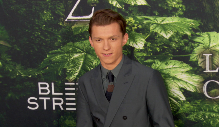 FRANCE ONLY - Tom Holland at The Lost City of Z Premiere