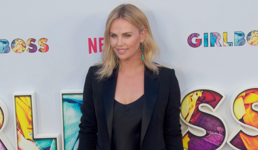 FRANCE ONLY - Charlize Theron, Britt Robertson and more at GIRLBOSS Premiere
