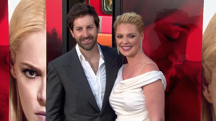 FRANCE ONLY - Katherine Heigl, Josh Kelley, Rosario Dawson and more at Unforgettable Premiere