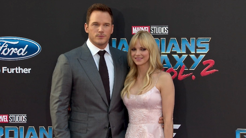 FRANCE ONLY - Chris Pratt, Anna Faris, Vin Diesel and more at Guardians of the Galaxy Vol. 2 Premier