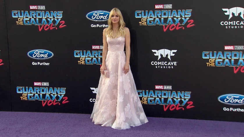 FRANCE ONLY - Anna Faris at Guardians of the Galaxy Vol. 2 Premiere