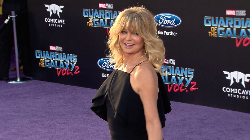 FRANCE ONLY - Goldie Hawn at Guardians of the Galaxy Vol. 2 Premiere