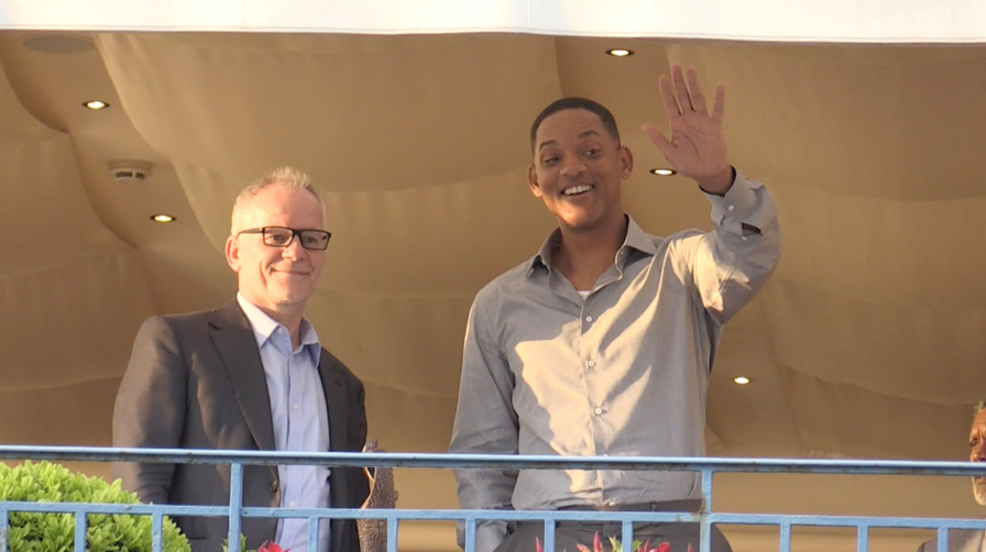 Will Smith attends the Cannes Film Festival Jury dinner