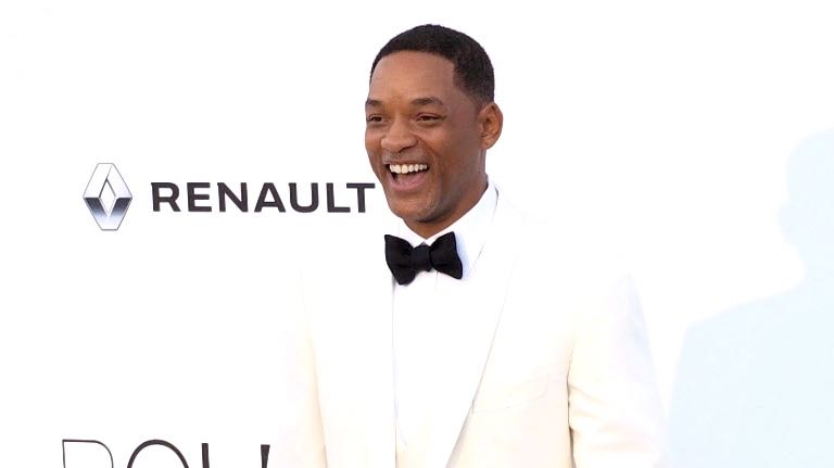 Will Smith at the amfAR Gala during the Cannes Film Festival 2017