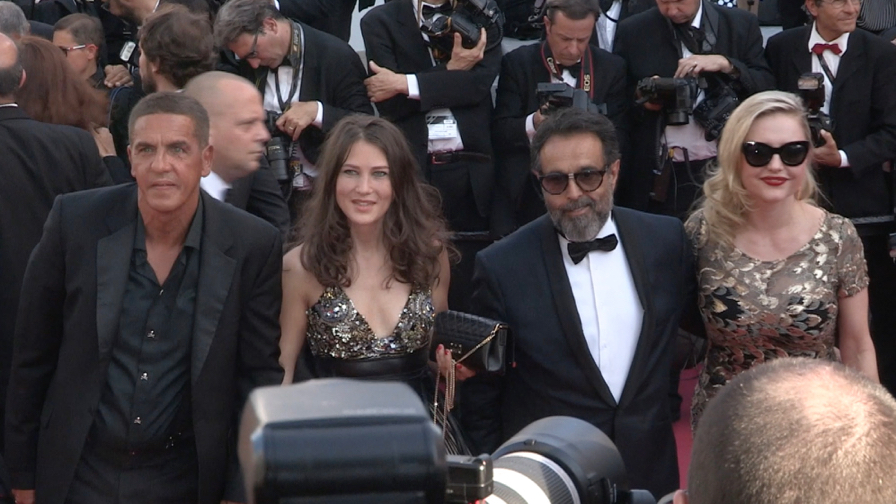 Clotilde Hesme, Ramzy Bedia, Sami Naceri and more on the red carpet in Cannes