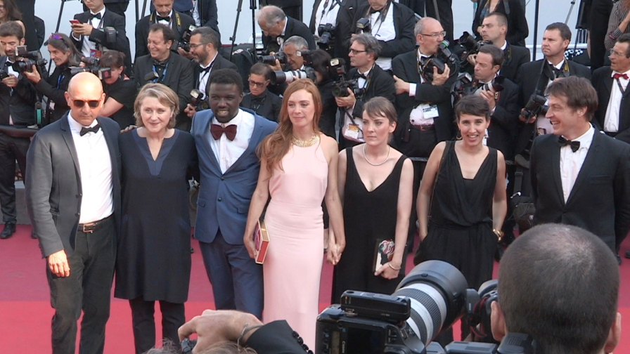 Camera d Or jury jury and more on the red carpet in Cannes