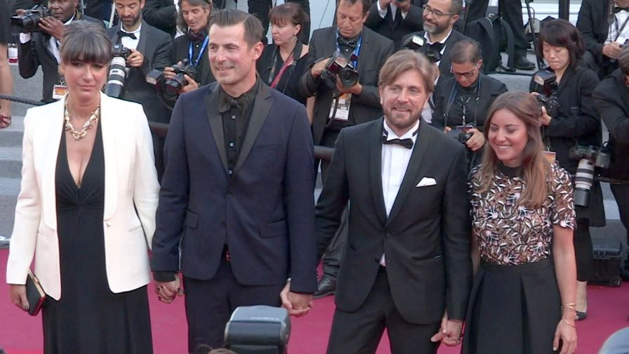 Palme d Or winner Ruben Ostlund, Claes Bang and more on the red carpet in Cannes