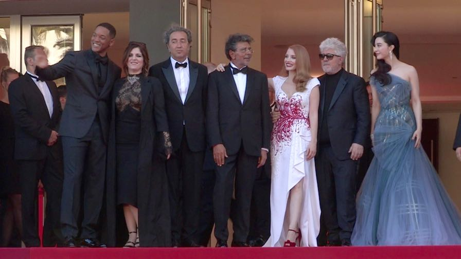 Will Smith, Jessica Chastain, Pedro Almodovar and more on the red carpet in Cannes