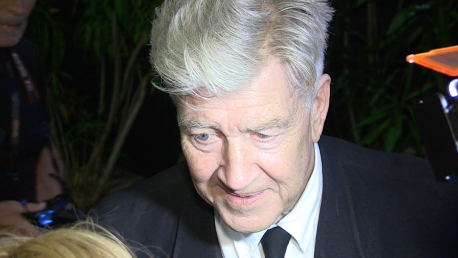 Director David Lynch after the Closing Ceremony of the Cannes Film Festival 2017