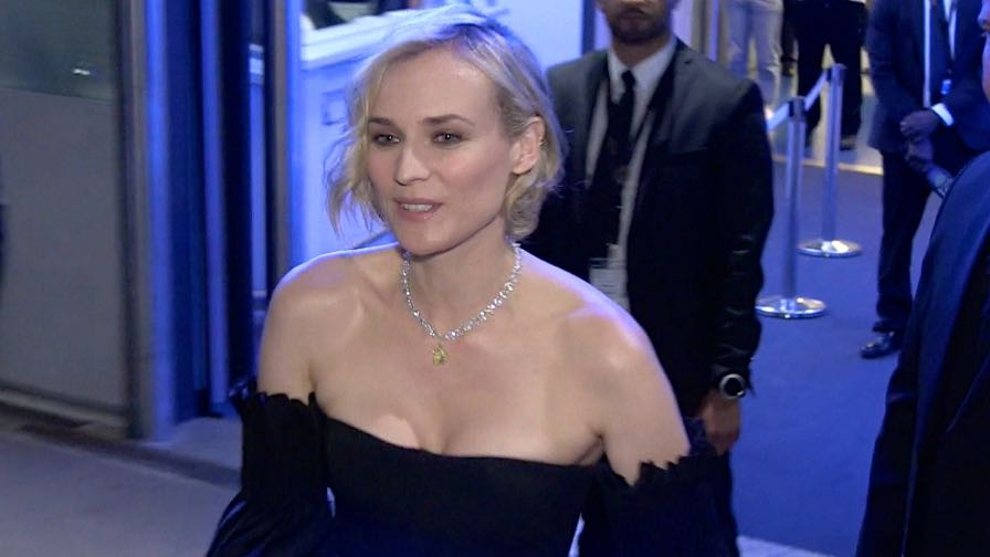 The beautiful Diane Kruger after the Closing Ceremony of the Cannes Film Festival 2017