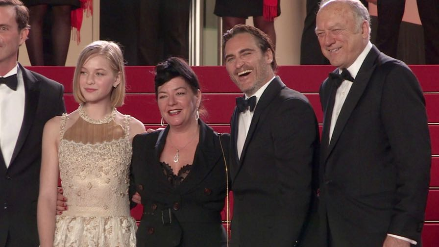 Joaquin Phoenix, Rooney Mara, Lynne Ramsay and more on the red carpet in Cannes