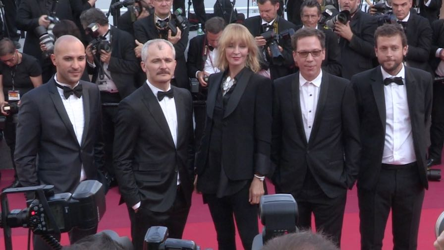 Adrien Brody, Uma Thurman, Reda Kateb and more on the red carpet in Cannes