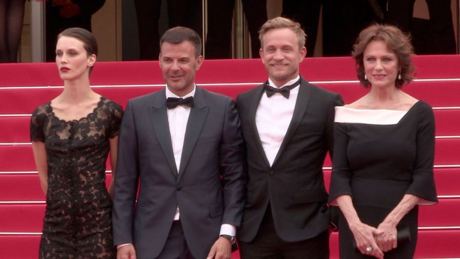 Marine Vacth, director Francois Ozon, Jeremie Renier and more on the red carpet in Cannes