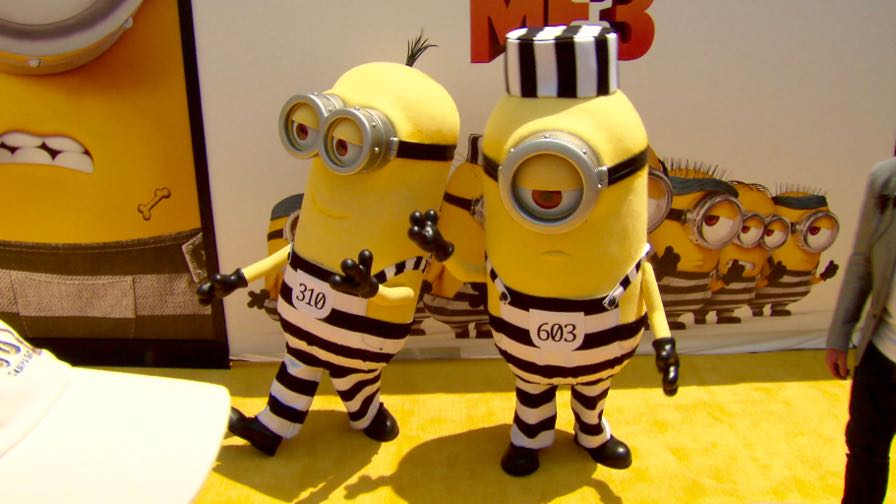 FRANCE ONLY - Kristen Wiig, Steve Carell and more at the Despicable Me 3 Premiere in LA