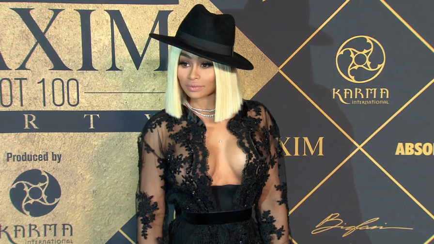 FRANCE ONLY - Blac Chyna , Hailey Baldwin , Ireland Baldwin and more at Maxim Hot 100 Party 2017