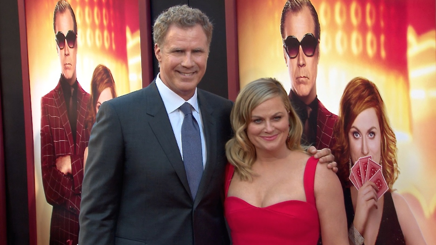 FRANCE ONLY - Amy Poehler, Will Ferrell and more at The House Premiere