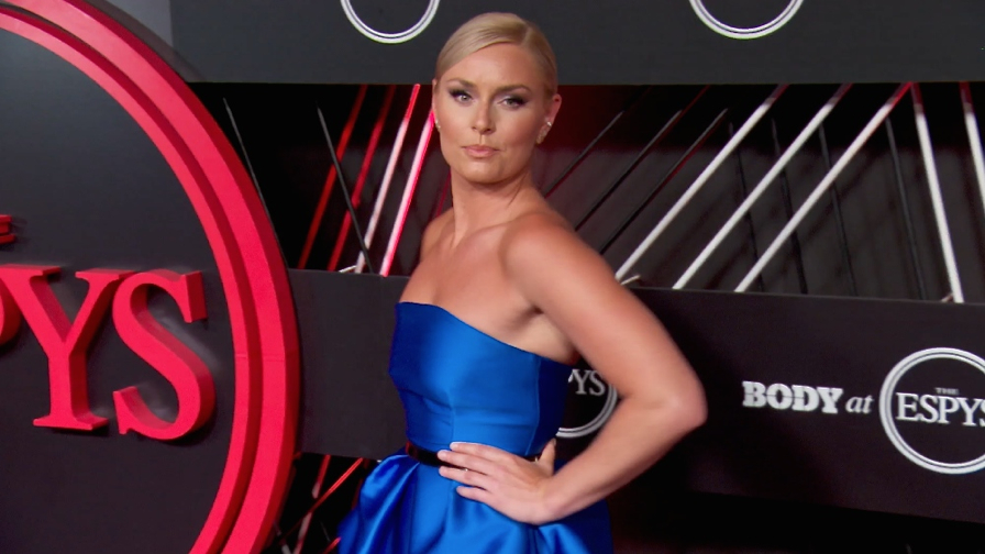FRANCE ONLY - Lindsey Vonn, Aly Raisman, Nick Young and more at ESPYs Pre-Party 2017