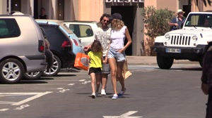EXCLUSIVE - Michael Youn and Isabelle Funaro in Saint Tropez
