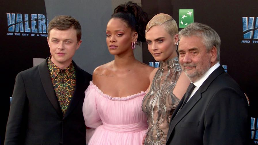 FRANCE ONLY - Valerian and the City of a Thousand Planets Premiere in LA