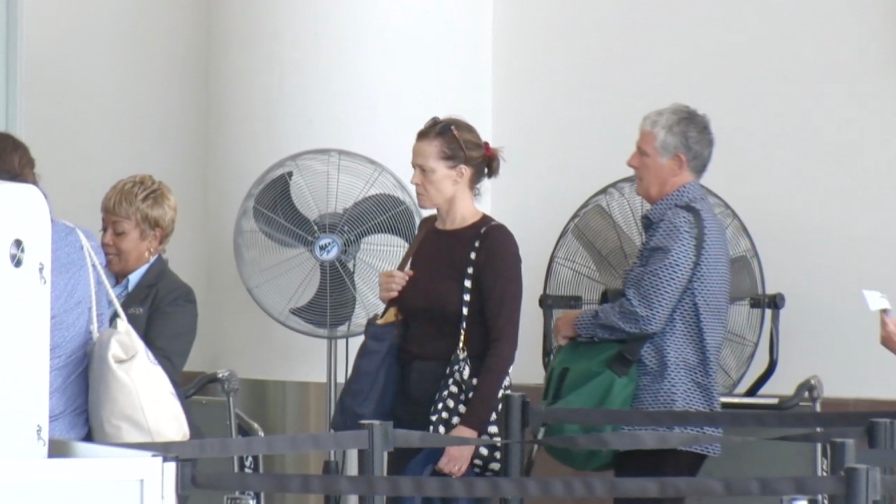 FRANCE ONLY - EXCLUSIVE - Sigourney Weaver With NO MAKEUP Leaving L.A. With Hubby Jim Simpson