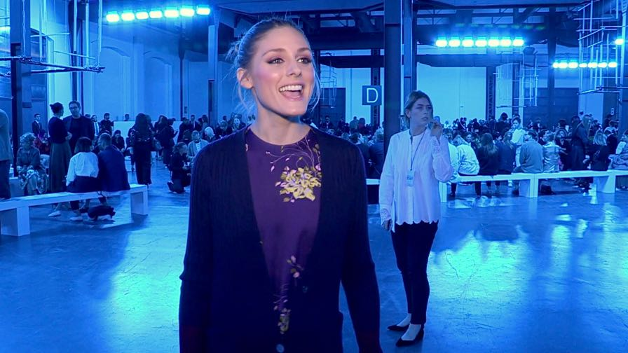 Olivia Palermo and more front row for the Sportmax show in Milan
