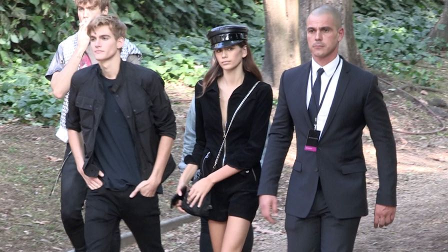 Kaia Gerber, Hailey Baldwin and more after the Bottega Veneta Fashion Show in Milan