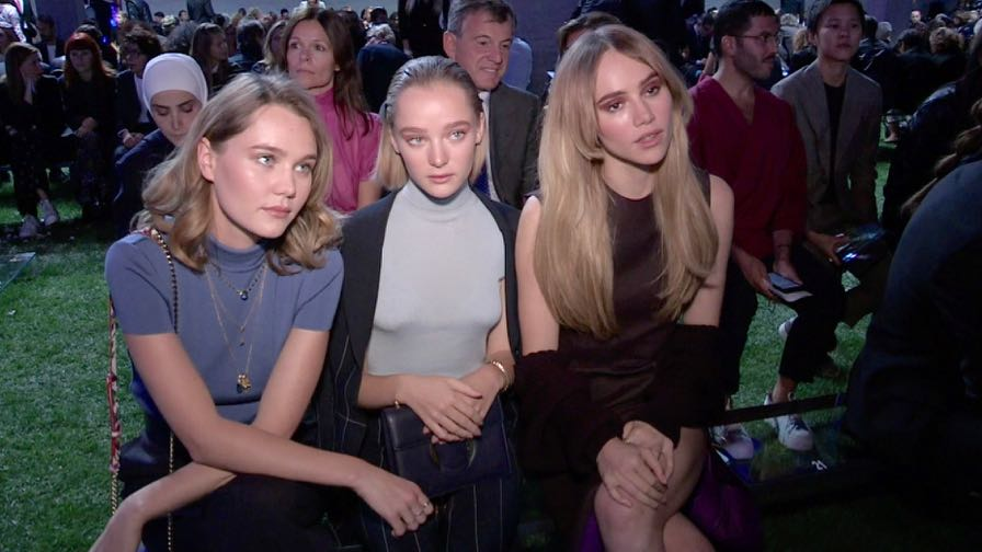Suki Waterhouse, Olivia Palermo and more front row for the Salvatore Ferragamo Fashion Show