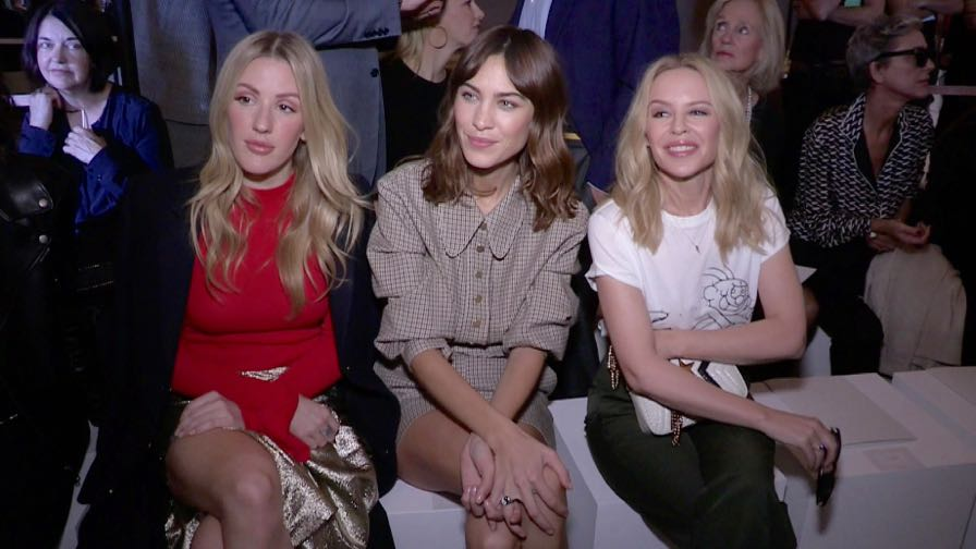 Kylie Minogue, Jerry Seinfeld and more front row for the Stella McCartney Ready to Wear Fashion Show