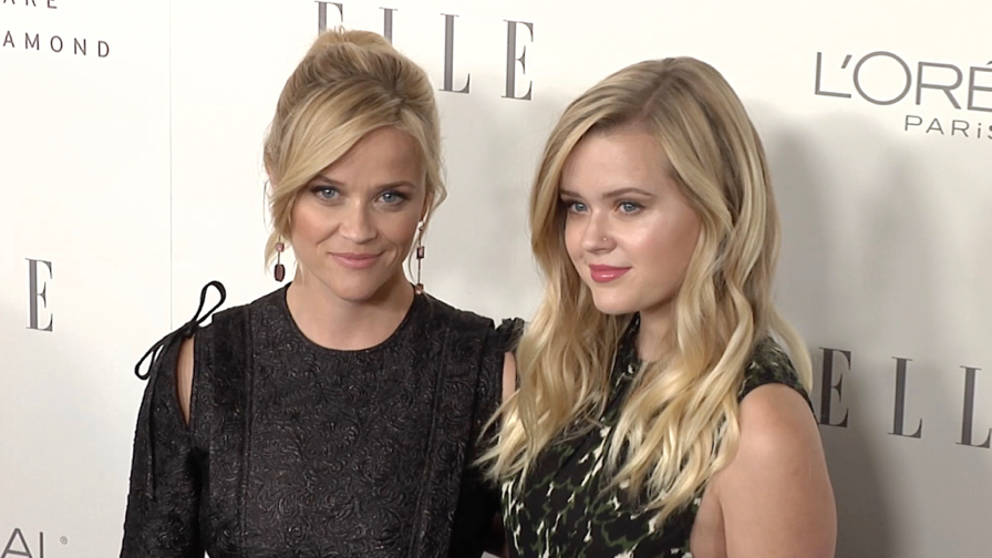 Reese Witherspoon and Ava Phillippe  at Elle Women in Hollywood 2017