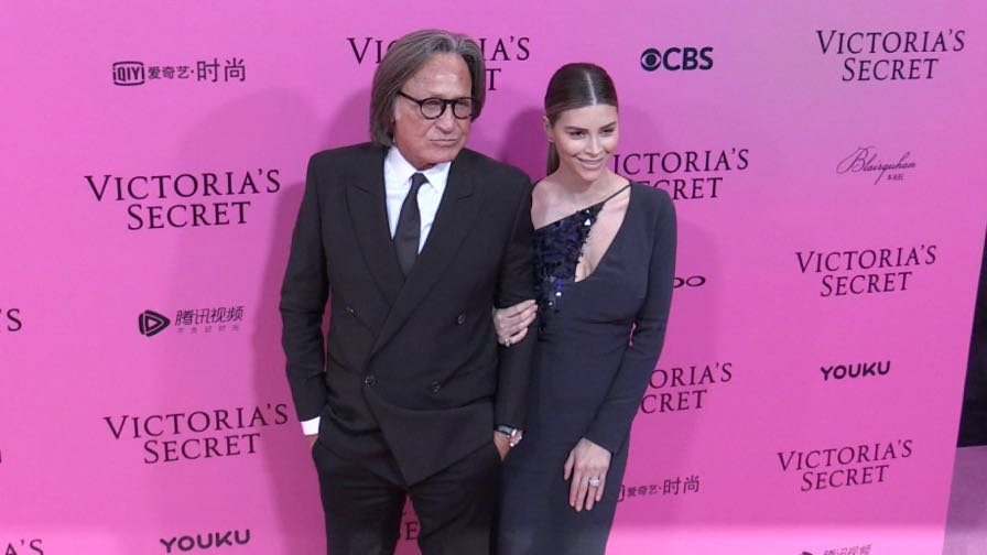 Mohamed Hadid, Olivier Rousteing and more on the Pink Carpet before the Victoria Secret Fashion Show