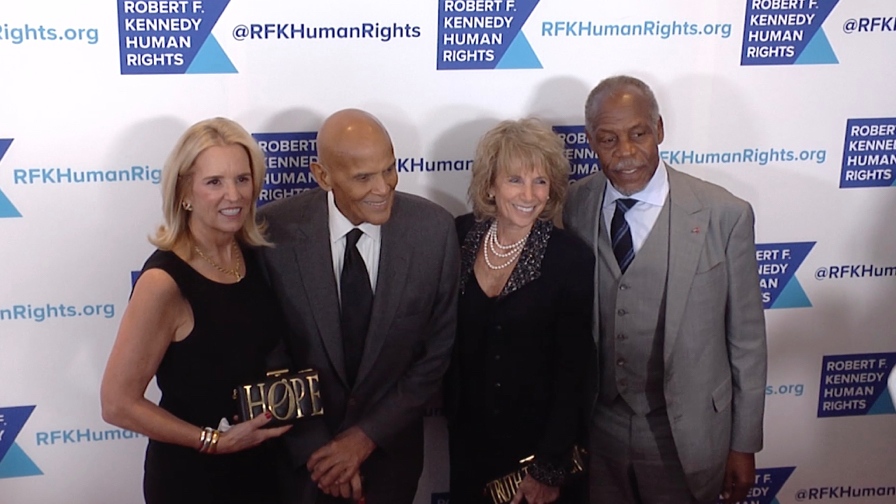 Harry Belafonte, Danny Glover and more at Ripple Of Hope Awards Dinner