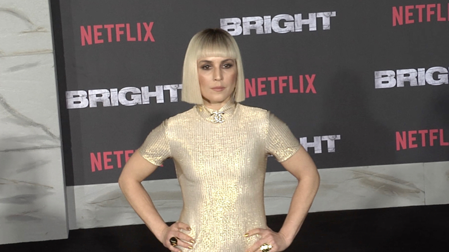 Noomi Rapace at Bright Premiere in Los Angeles